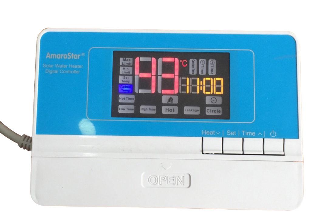 Bộ hiển thị nhiệt độ nước nóng trong bình chứa